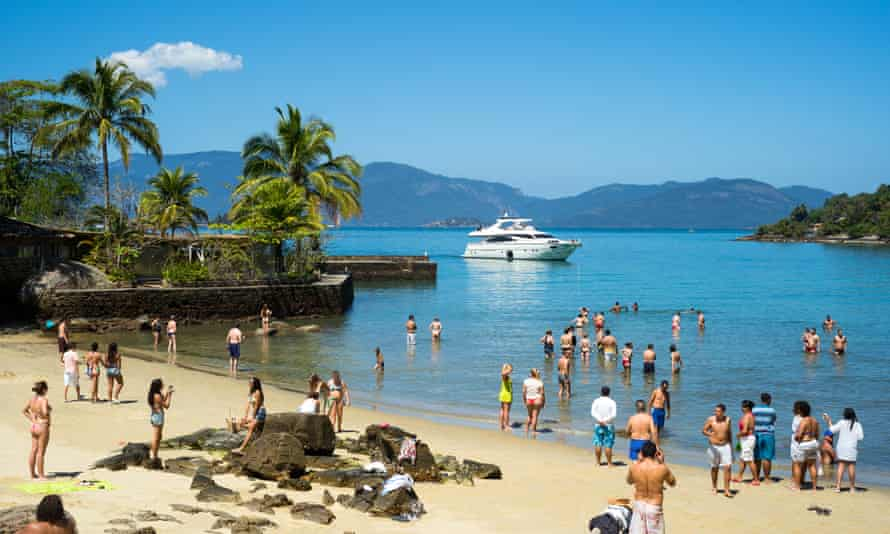Angra dos Reis is a popular tourist area on Rio de Janeiro's 'green coast'.