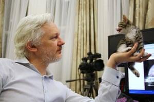 London, England: WikiLeaks founder Julian Assange