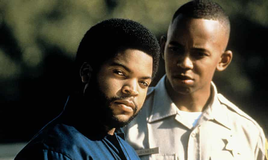 Ice Cube and Michael Boatman in The Glass Shield