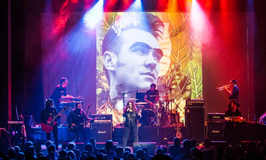 Ceci Bastida takes centre stage as one of the lead singers of Mexrrissey at the Enmore theatre on 23 January.