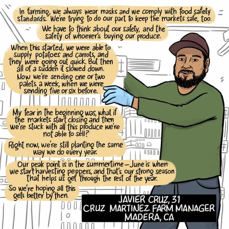 Javier Cruz, Cruz Martinez Farm manager