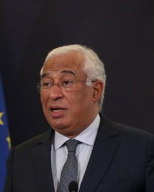 Portuguese Prime Minister Antonio Costa.