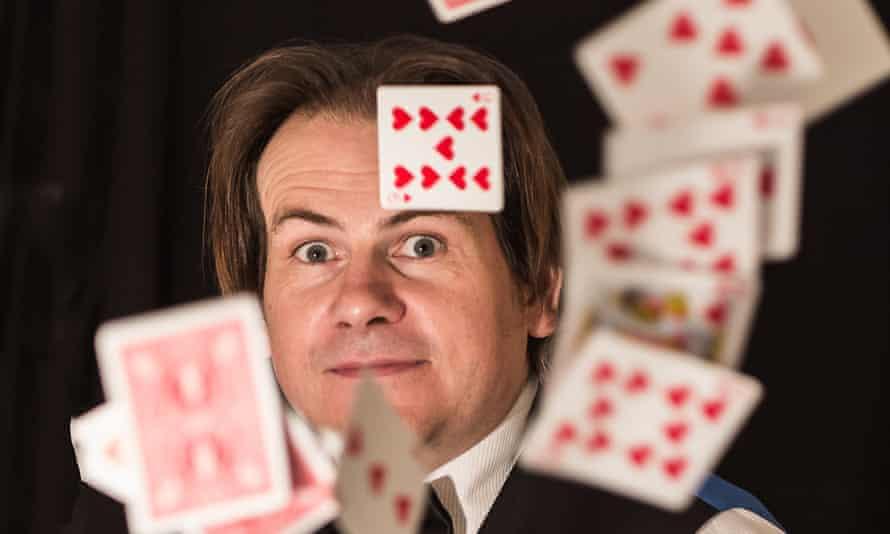 Jim Campbell, 48, a close up magician.