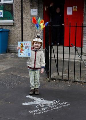 Francis returns to kindergarten in March 2021.