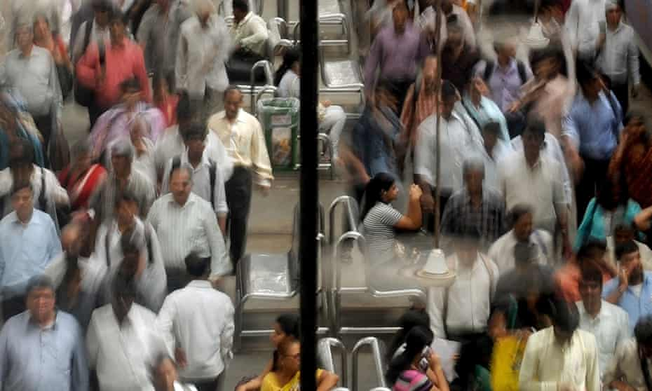 Half the growth in population will come from nine countries, India among them.