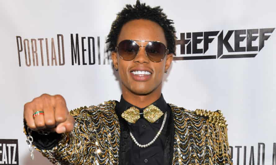 Silentó pictured in March 2019.