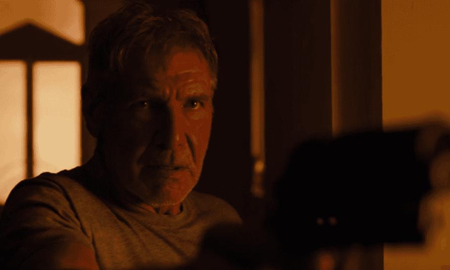 Haggard misanthropy … Harrison Ford returns as Deckard.
