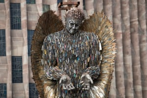Coventry, England The Knife Angel sculpture