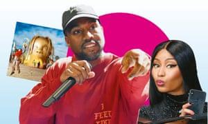 Close to the edit... Astroworld; Kanye; Nicki Minaj.