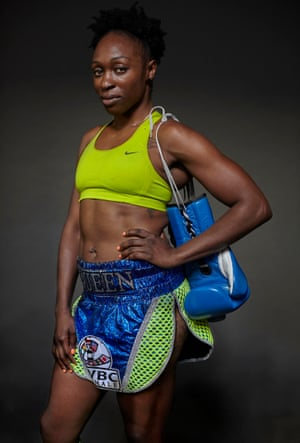 Ronica Jeffrey is the International Women's Boxing Federation world super-featherweight champion.
