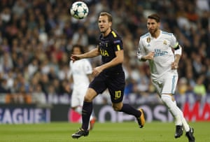 Tottenham and Real Madrid, in action here in 2017, face one another in Munich.