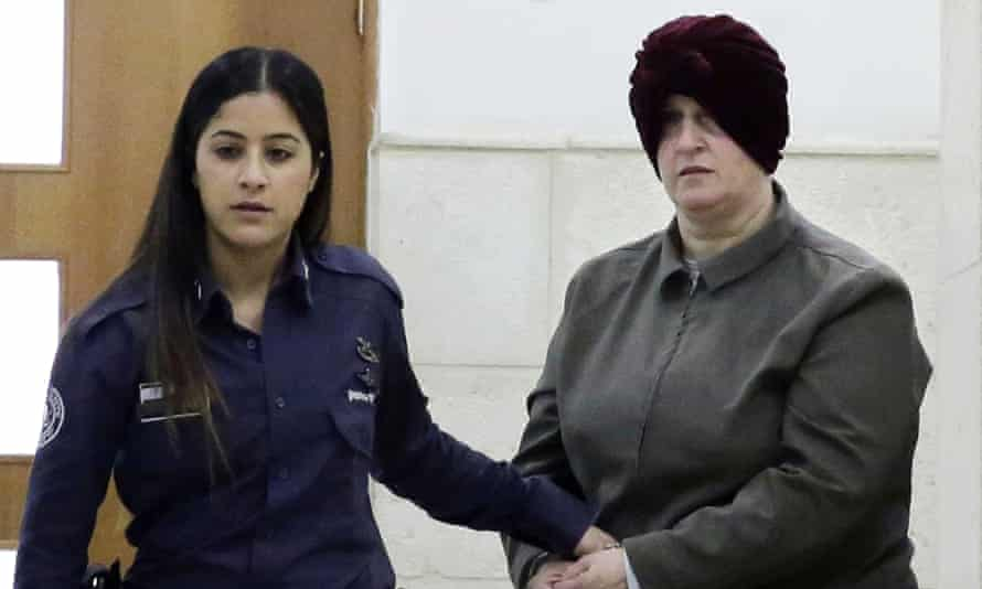 Malka Leifer, right, pictured during her extradition trial in Israel in 2018.