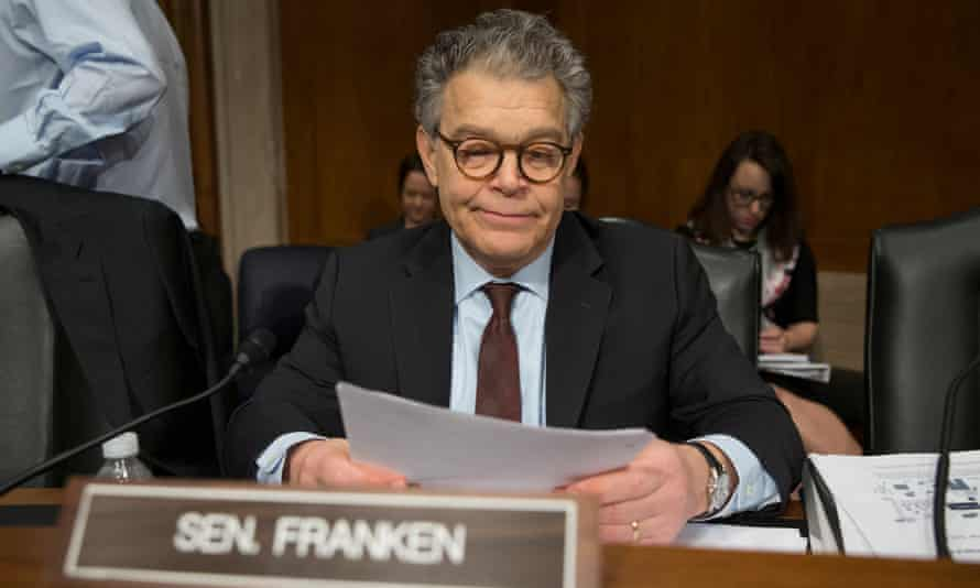 Senator Al Franken said on Monday: 'I know there are no magic words I can say to regain your trust and I know that is going to take time.'
