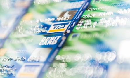 Visa bank cards