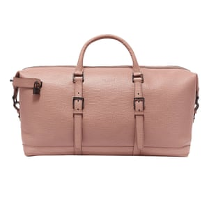 pale pink weekend bag Ted Baker