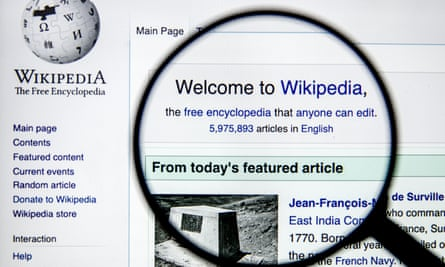 Halaman Wikipedia.