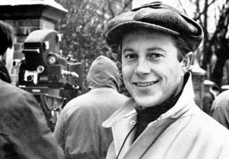 Nicolas Roeg on the set of The Caretaker in 1963.