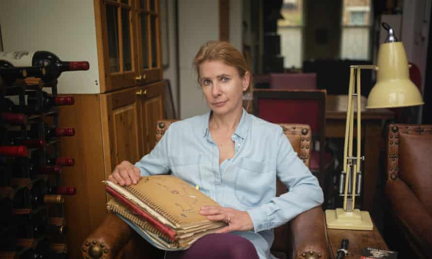 Novelist Lionel Shriver with her teenage diaries