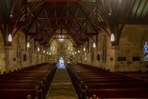 A general view of the interior of St Paul's Anglican Church in Burwood Sydney, Australia.