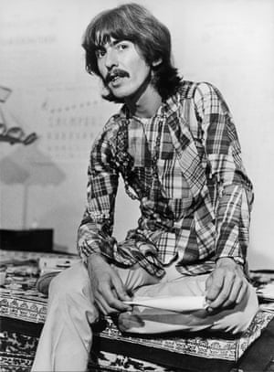 George Harrison in Los Angeles in 1967