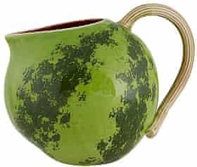 Watermelon pitcher.