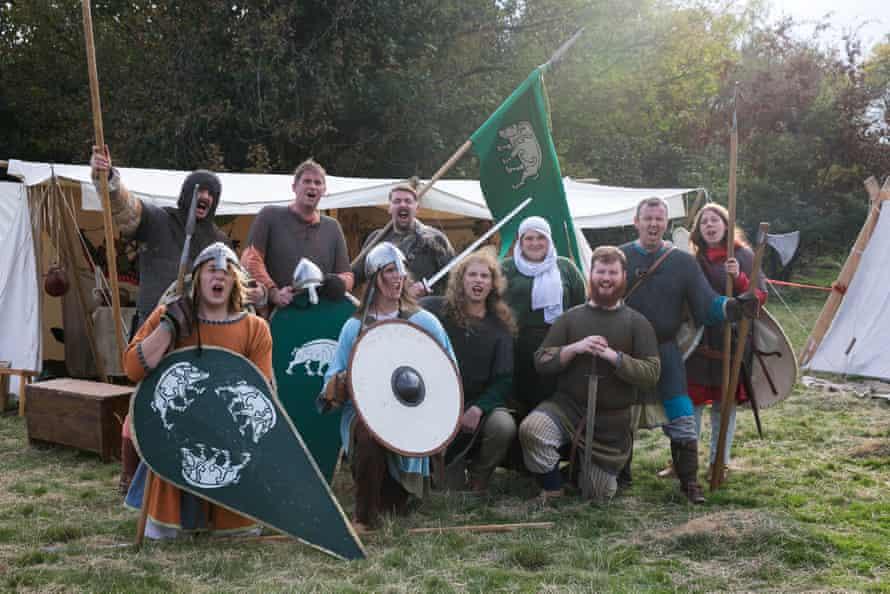 Johnathen Everett and his fellow Cumbrian re-enactors