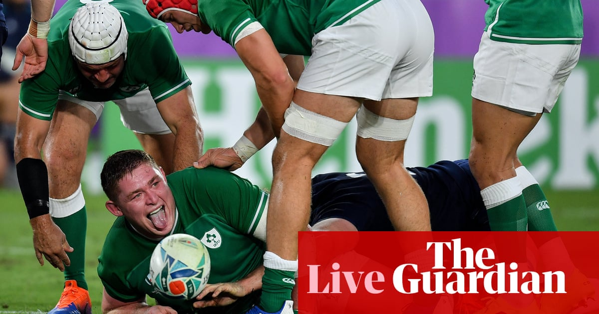 Ireland v Scotland: Rugby World Cup 2019 – live!
