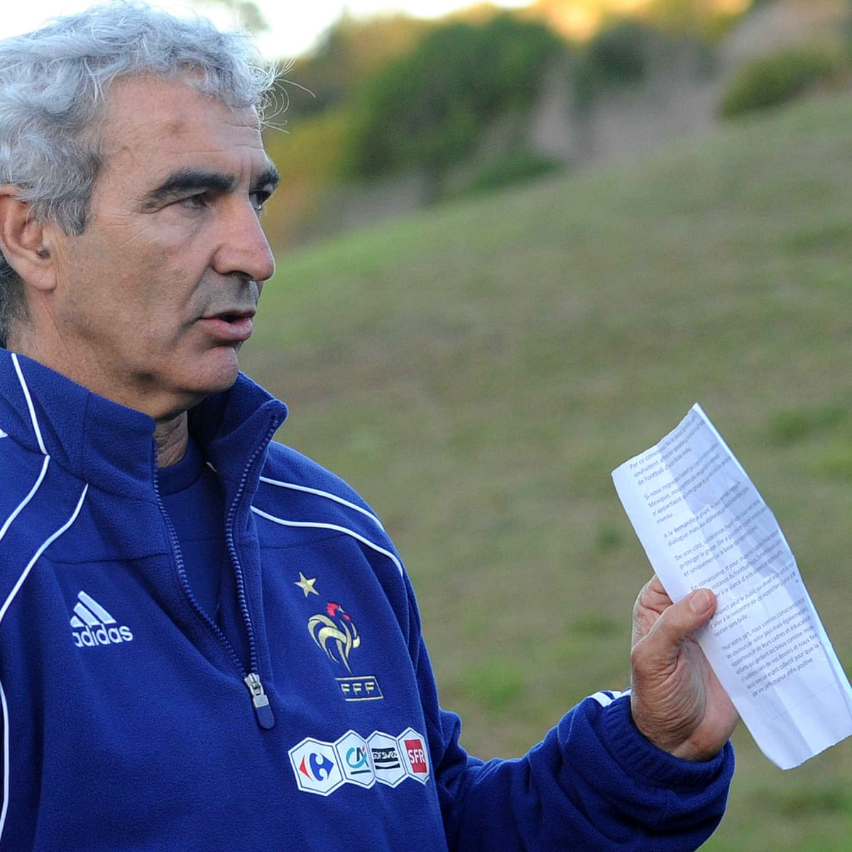 Raymond Domenech: 'People started to think I wore a wizard's hat ...