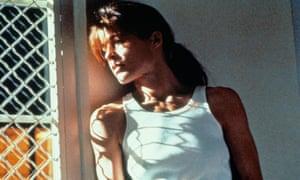 Linda Hamilton as Sarah Connor in Terminator 2: Judgement Day.