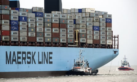 Maersk is among the organisations saying shipping must play its part in holding global temperatures rises to less than 2C.
