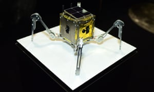 The Spacebit rover weighs 1.5kg and resembles a robot spider.