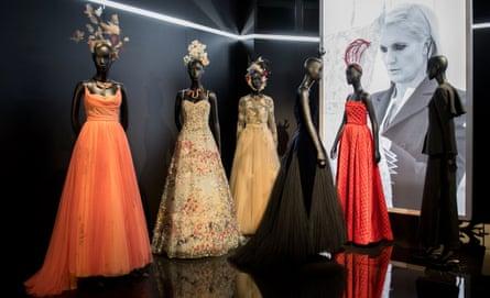 Christian Dior - Exhibition - Paris Fashion Week Haute Couture F/W 2017/18epa06064851 The Musee des Arts Decoratifs