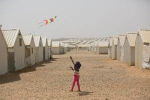 Zaatari girl