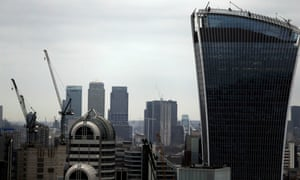 A view of the London skyline.