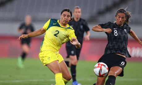 Australia open Tokyo 2020 Olympics campaign with 2-1 win over New Zealand