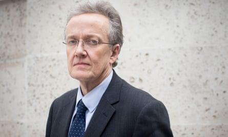 Nick Hardwick, the former Parole Board chair
