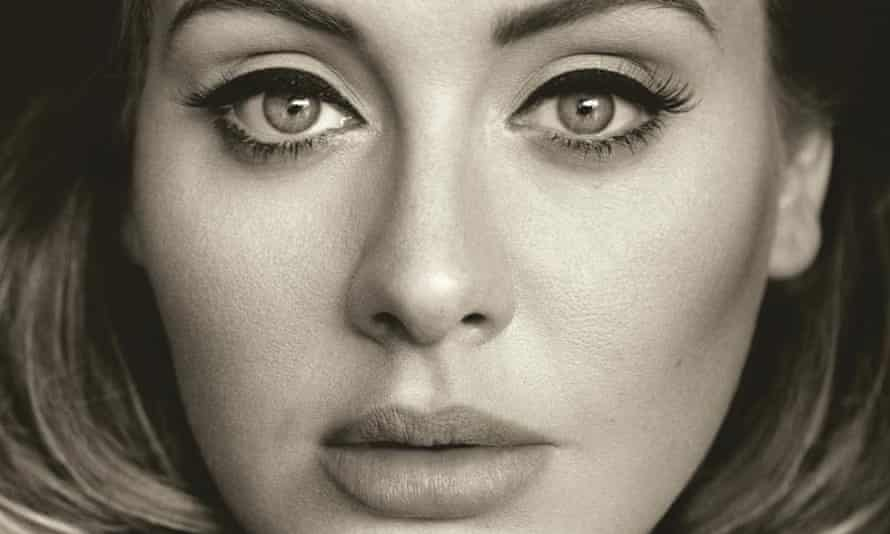 Adele … Fighting it out on TV and in the supermarkets