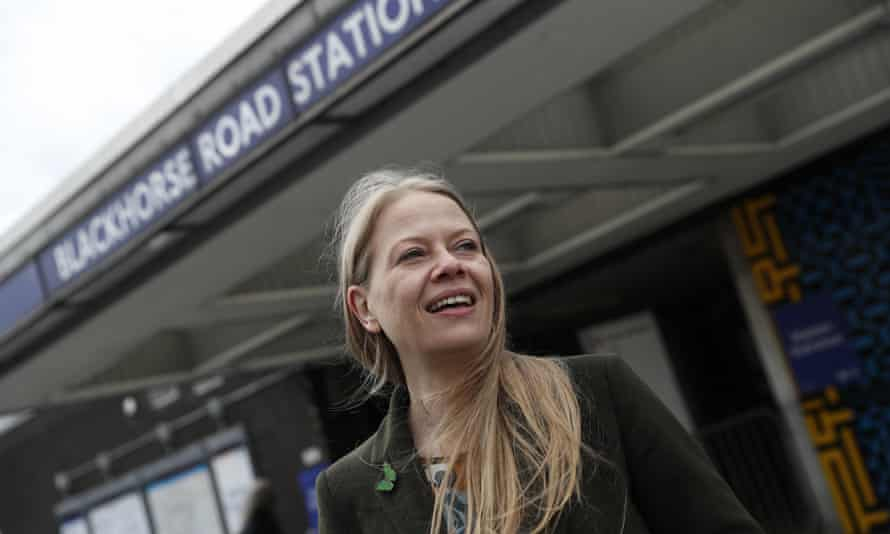 The Greens' Sian Berry. The party wants to triple London's walking and cycling budget to GBP400m.