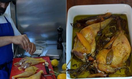 Rachel Roddy's Italian confit chicken recipe