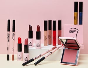 High street beauty: Asos launches its own range of make-up.