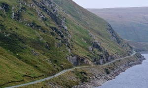 The route offers the chance to ride past large reservoirs and over dams.
