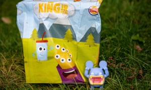 Plastic toys … Burger King is getting rid of them.