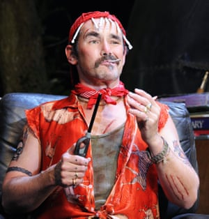 Rylance as Johnny 'Rooster' Byron in Jerusalem.
