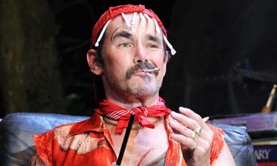 Mark Rylance in Jerusalem at the Apollo theatre in London in 2010.