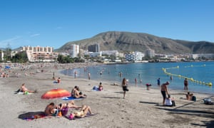 Playa de los Cristianos in Tenerife