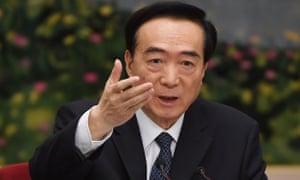 Xinjiang party secretary Chen Quanguo