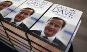 Brought to book … is Call Me Dave co-author Isabel Oakeshott retreating from her claims about David Cameron?