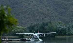 Sydney Seaplanes on Lake Burley Griffin.
