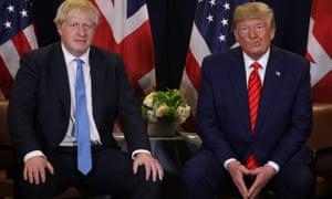 Donald Trump and Boris Johnson.