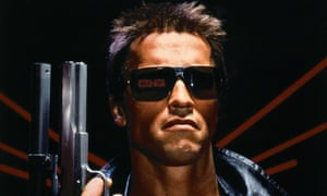 What could be more authoritarian? … Arnold Schwarzenegger in the 1984 film The Terminator.